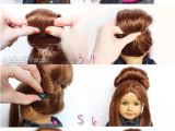 Easy American Girl Doll Hairstyles Step by Step American Doll Hairstyles Step by Step