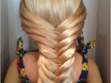 Easy American Girl Doll Hairstyles Step by Step Fishtail Braids Fishtail and American Girl Dolls On Pinterest
