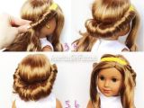 Easy American Girl Doll Hairstyles Step by Step How to Make A Doll Jump Rope