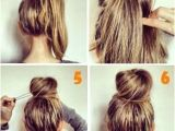 Easy and Cute Bun Hairstyles 18 Pinterest Hair Tutorials You Need to Try Page 12 Of 19