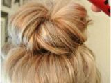 Easy and Cute Bun Hairstyles Effortless Messy Bun Tutorial Hair Ideas Pinterest