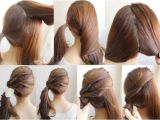 Easy and Cute Hairstyles Step by Step 20 Cute Easy Hairstyles Collection 2017 Sheideas