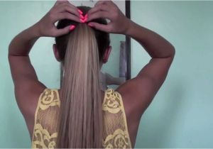 Easy and Cute Hairstyles Videos 6 Cute and Easy Ponytails