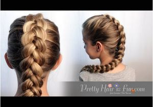 Easy and Cute Hairstyles Videos How to Dutch Braid Hair Tutorial 🙌🙌❤
