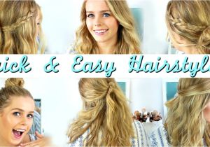 Easy and Fast Hairstyles for Medium Length Hair Quick and Easy Hairstyles for Medium Length Hair Quick