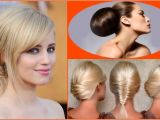 Easy at Home Hairstyles for Medium Length Hair Easy Casual Updo Hairstyles for Medium Length Hair