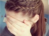 Easy athletic Hairstyles athletic Hair Double Lace Braid