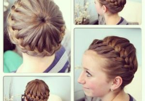 Easy athletic Hairstyles Gymnastics Hairstyles for Shoulder Length Hair
