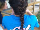 Easy athletic Hairstyles Super Easy Sport Hairstyle Volleyball