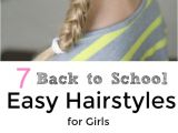 Easy Back to School Hairstyles for Short Hair 7 Back to School Easy Hairstyles for Girls