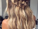 Easy Ball Hairstyles Crown Braid Wedding Hairstyle Inspiration