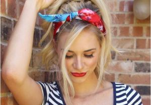 Easy Bandana Hairstyles 20 Gorgeous Bandana Hairstyles for Cool Girls