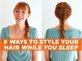 Easy Bedtime Hairstyles Easy Hairstyles to Do for Bed