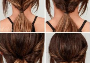 Easy before School Hairstyles Quick 5 Minute Hairstyles before School