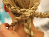Easy Braid Hairstyles to Do Yourself Monique Lhuillier Bridal Fall 2014 Braided Hairstyles
