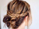 Easy Braided Hairstyles for Medium Length Hair 20 Easy Updo Hairstyles for Medium Hair Pretty Designs