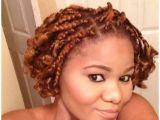 Easy Braided Hairstyles for Short Curly Hair Short Curly Box Braids Hair Pinterest