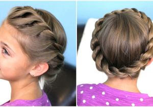 Easy Braided Hairstyles for Short Hair Step by Step How to Create A Crown Twist Braid