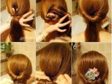 Easy Bridal Hairstyles Step by Step Coiffure Simple Cheveux Long Tresse Et Chignon En 26 Idées