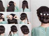 Easy Bridal Hairstyles Step by Step Wedding Hairstyles Elegant Updo Tutorial In 10 Easy Steps