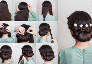 Easy Bridal Hairstyles Step by Step Wedding Hairstyles Elegant Updo Tutorial In 10 Easy Steps