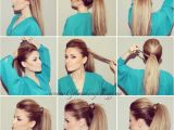 Easy Bump Hairstyles 1137 Best Images About Hair On Pinterest