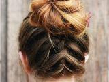 Easy Bun Hairstyles for Medium Length Hair 60 Easy Updo Hairstyles for Medium Length Hair In 2018