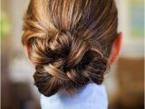 Easy Bun Hairstyles for Work Easy Updo S that You Can Wear to Work Women Hairstyles