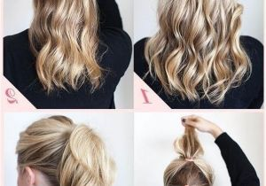 Easy Business Casual Hairstyles 2018 Latest Casual Updos for Long Thick Hair
