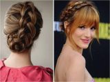 Easy but Effective Hairstyles Braided Hairstyles with Fringe