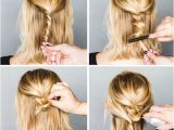 Easy but Fancy Hairstyles Inspiration Coiffures Cheveux Courts