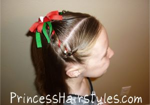 Easy Christmas Party Hairstyles Christmas Hairstyle Easy Hairstyles for Girls
