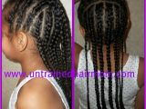 Easy Cornrow Hairstyles for Kids Cute Easy Cornrow Style for Kids
