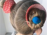 Easy Crazy Hairstyles for Crazy Hair Day Crazy Hair Day Ideas Girls Cupcake Hairdo Must Have Mom