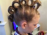Easy Crazy Hairstyles for School Rolling Mohawk for Crazy Hair Day Hair