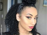 Easy Curly Hairstyles Half Up Awesome Cute Hairstyle for Natural Hair