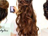 Easy Cute Hairstyles Videos 4 totally Easy Back to School Hairstyles Cute Hair Tutorial