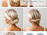 Easy Diy Hairstyles for Medium Length Hair 16 Pretty and Chic Updos for Medium Length Hair Pretty