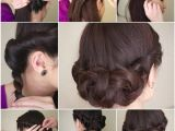 Easy Do It Yourself Hairstyles for Short Hair Diy Simple and Awesome Twisted Updo Hairstyle