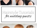 Easy Do It Yourself Hairstyles for Wedding Guests top 5 Hairstyle Tutorials for Wedding Guests Hair Romance