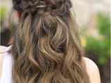 Easy Down Hairstyles for Medium Hair 25 Easy Half Up Half Down Hairstyle Tutorials for Prom