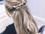 Easy Elegant Hairstyles Half Up Half Up Half Down Hairstyle Hairstyle Updo Hairstyle Upstyle