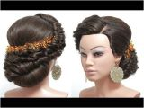 Easy Elegant Hairstyles Youtube Bridal Hairstyle for Long Hair Tutorial Wedding Updo Step by Step