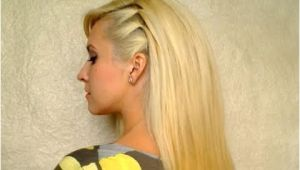 Easy Everyday Hairstyles Youtube Cute Easy Party Hairstyle for Medium Hair Back to School Everyday