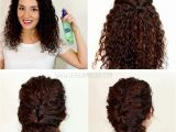 Easy Fast Hairstyles for Curly Hair Easy Hairstyles Frizzy Hair
