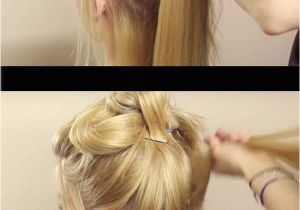 Easy Fast Hairstyles for Long Straight Hair Easy Bun Hairstyles for Long Straight Hair Hairstyles