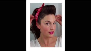 Easy Fifties Hairstyles 6 Pin Up Looks for Beginners Quick and Easy Vintage