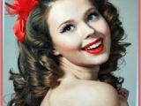 Easy Fifties Hairstyles Curly Hairstyles Easy 50s Hairstyles for Long Curly Hair