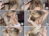 Easy Five Minute Hairstyles for Short Hair Pin by Kiesa Keller On Hair Ideas