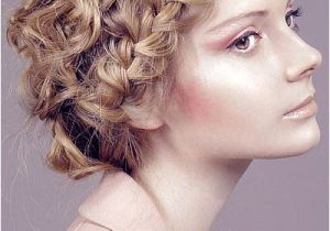 Easy formal Hairstyles for Curly Hair Curly Hairstyles Updos Easy Latestfashiontips